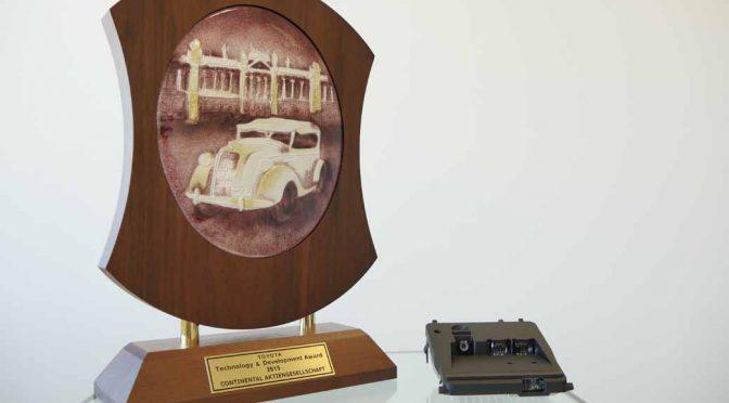 コンチネンタル、トヨタ自動車よりトヨタ セーフティ センスCの開発で「技術開発賞」を受賞