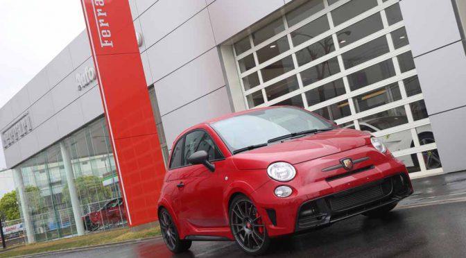 FCAジャパン、フェラーリ顧客向け代車としてアバルト車両の提供を開始
