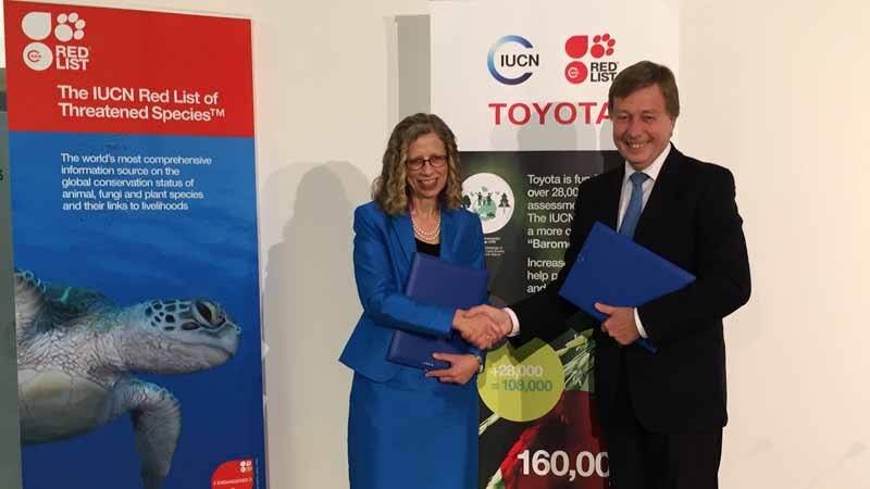 iucn-and-the-toyota-motor-corporation-evaluation-in-cooperation-with-some-endangered-of-the-world-biological20160517-1
