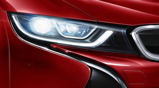 BMW i8の限定車「セレブレーション・エディション・プロトニック・レッド」を発売