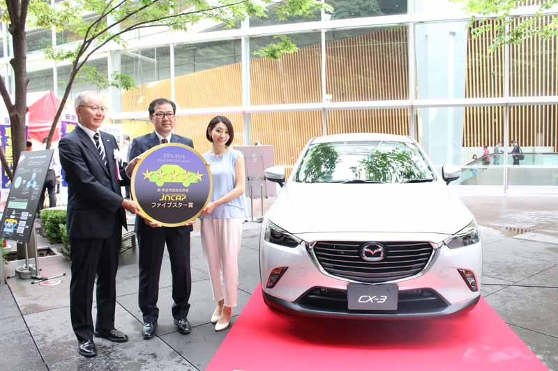 mazda-cx-3-won-the-jncap-five-star-award-at-the-2015-highest-score20160529-2
