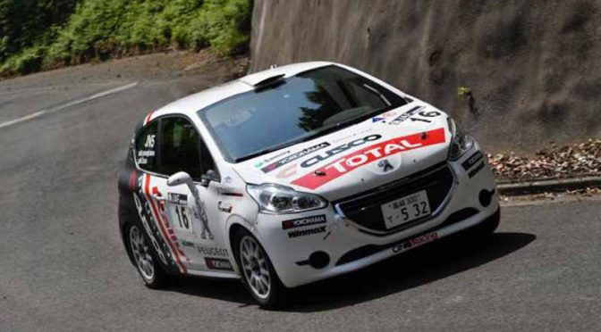 peugeot-208-r2-won-the-first-victory-in-the-third-round-of-the-all-japan-rally-championship20160525-2