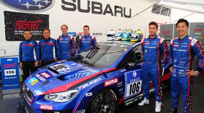 SUBARU WRX STI がニュルブルクリンク24時間レースでクラス優勝