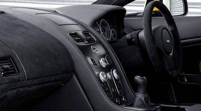 アストンマーティン、マニュアル・トランスミッション仕様の「V12 Vantage S」発売