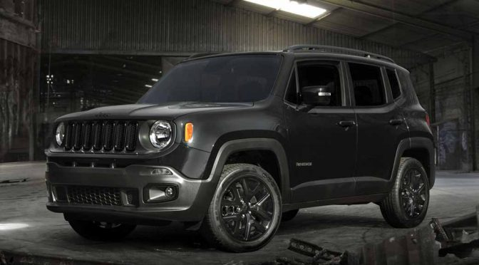 FCAジャパン、「Jeep® Renegade Black Edition」を発売