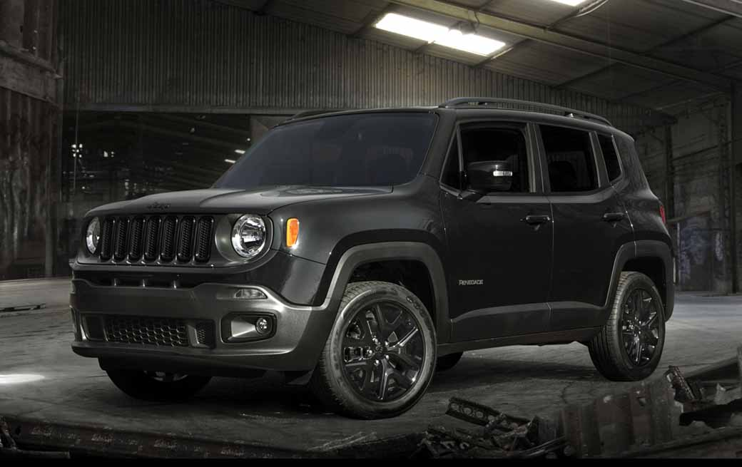 fca jeep renegade black edition motor cars. Black Bedroom Furniture Sets. Home Design Ideas