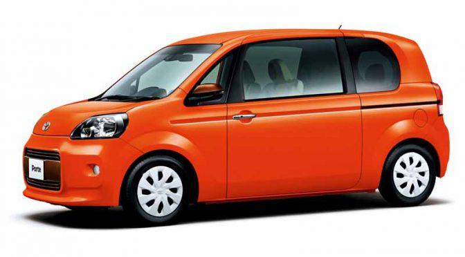 トヨタ、ポルテとスペイドの安全装備充実。併せて特別仕様車を追加