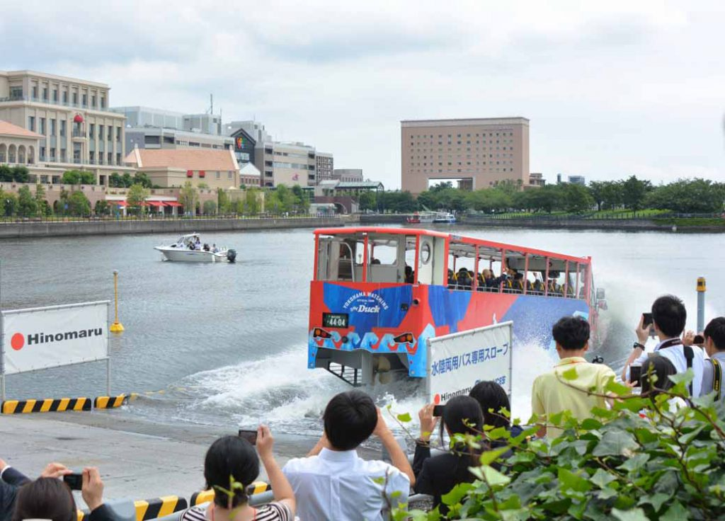 okohama-minato-mirai-begin-operation-amphibious-bus-sales-start-from-august-1020160728-1