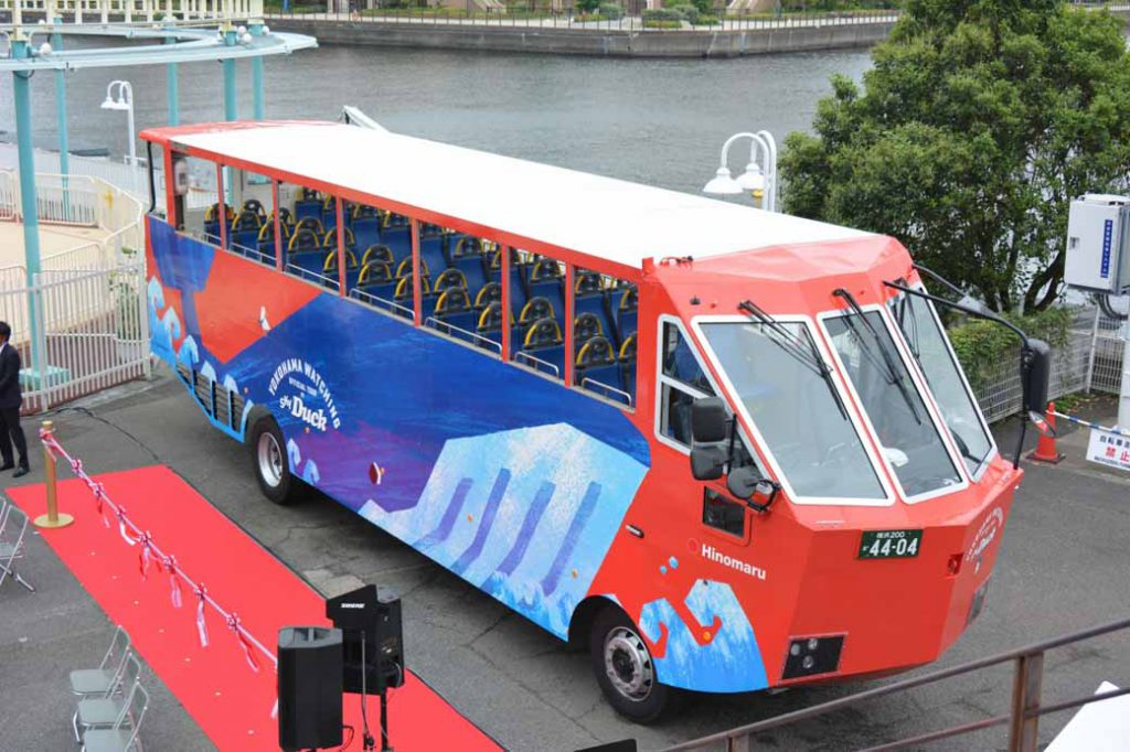 okohama-minato-mirai-begin-operation-amphibious-bus-sales-start-from-august-1020160728-2