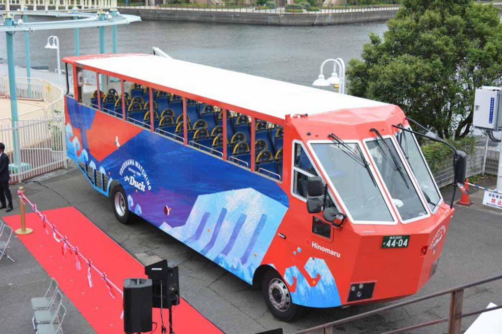 okohama-minato-mirai-begin-operation-amphibious-bus-sales-start-from-august-1020160728-2