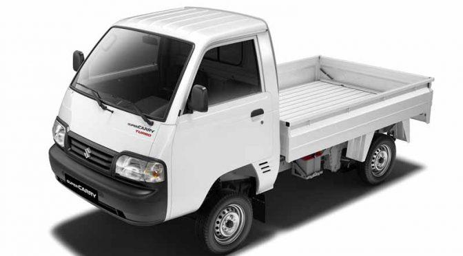 スズキ、インドの小型商用車セグメントに小型トラック「スーパーキャリイ」で初参入