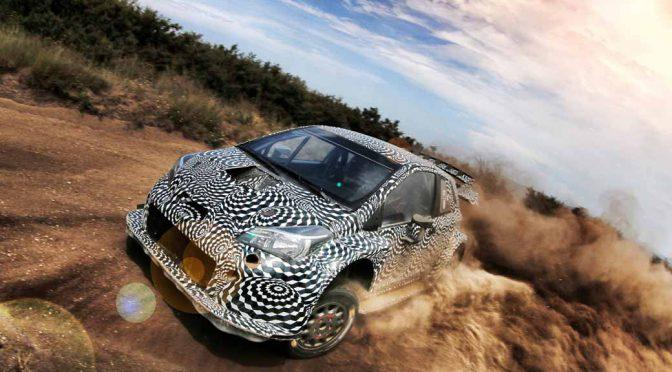 トヨタ、2017年WRC参戦に向けて実戦車両「ヤリスWRC」の動画を初公開