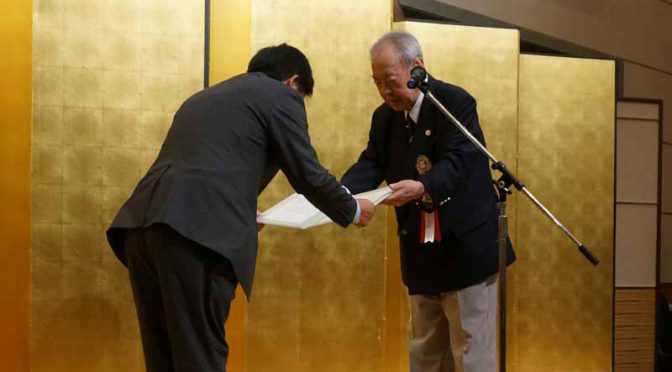 yokohama-rubber-will-be-awarded-a-certificate-of-appreciation-from-the-northeast-golf-federation20160712-2