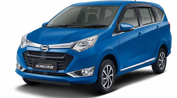 ダイハツ、インドネシアで新型多目的乗用車「シグラ(SIGRA)」を発売