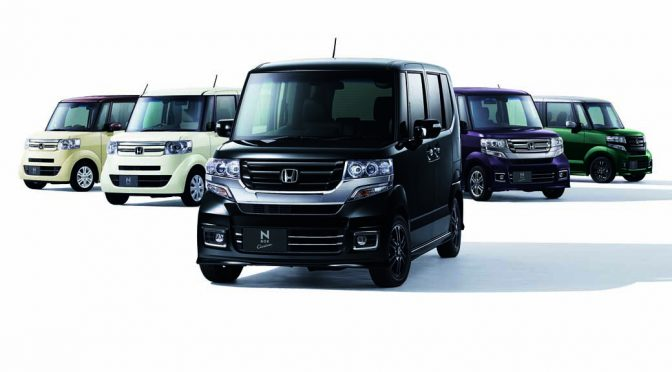 ホンダ、N-BOX並びに同カスタムに特別仕様車を設定し8/5発売