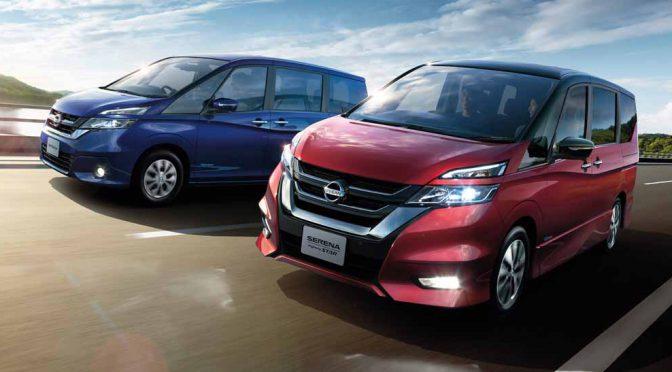 日産自動車、新型「セレナ」 を遂に発売。300万円を切るレベル2の運転補助機能搭載車