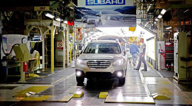 スバル、米国に於ける生産累計台数で300万台を達成