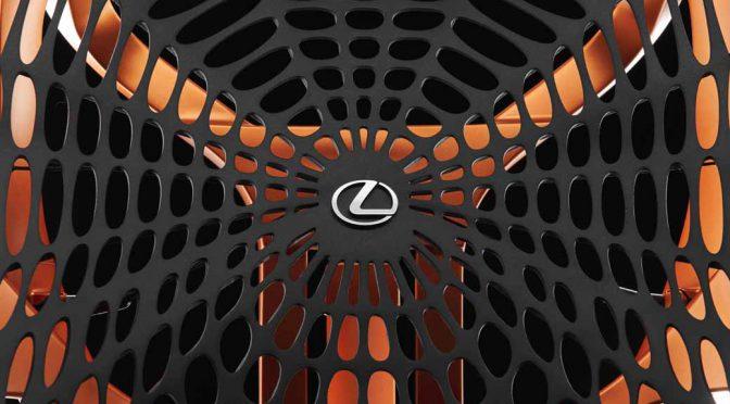 LEXUS、パリモーターショーに人体の動きを包み込むコンセプトシートを世界初公開