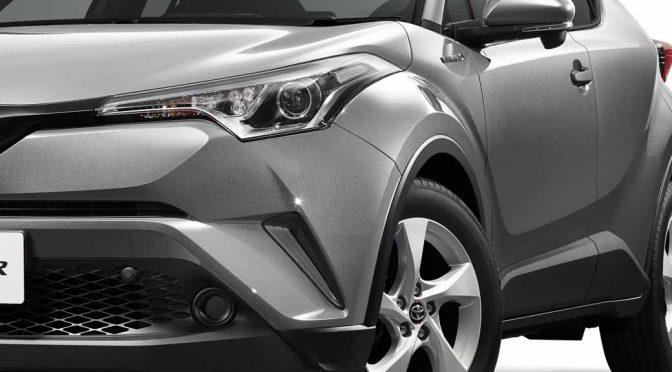 トヨタ自動車、新コンパクトSUVのC-HR(日本仕様)の車両概要を初公開