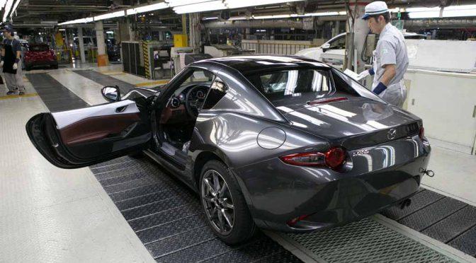 マツダ、リトラクタブルハードトップモデル「Mazda MX-5 RF」の生産を開始