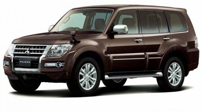 三菱自動車工業、オールラウンドSUV「パジェロ(PAJERO)」を一部改良して発売