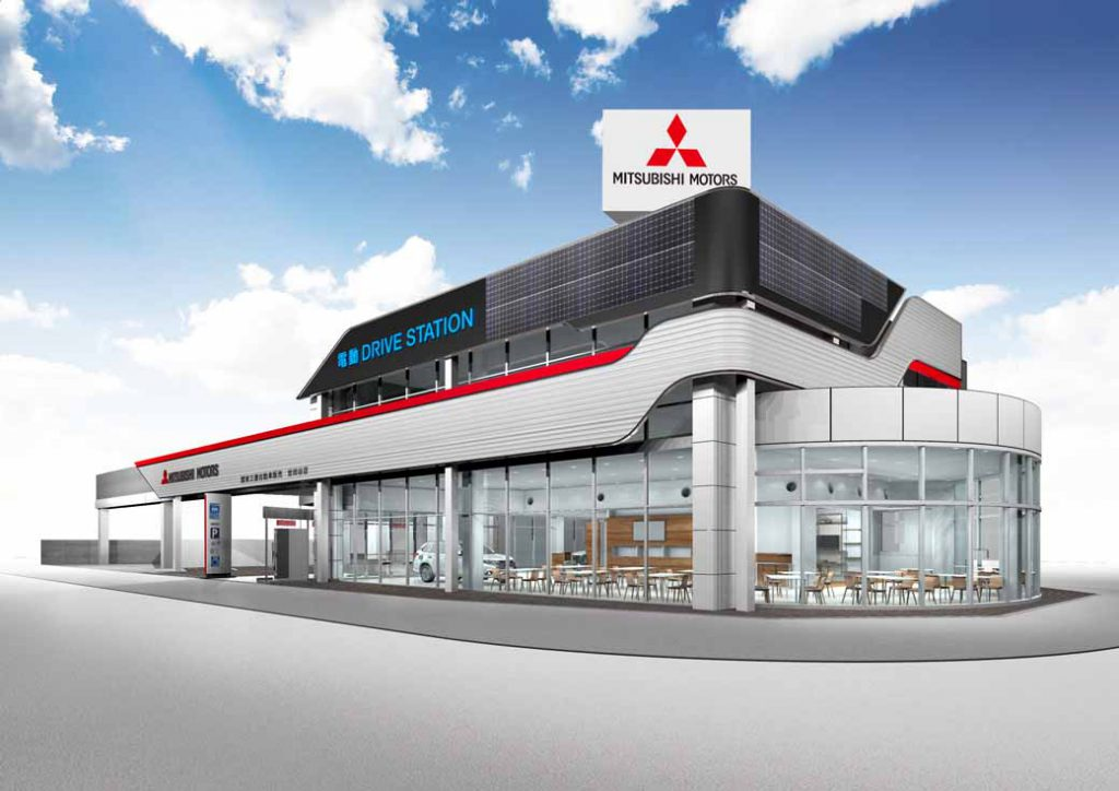 mitsubishi-motors-corporation-the-next-generation-store-electric-drive-station-established-the-first-store-in-tokyos-setagaya20161011-3