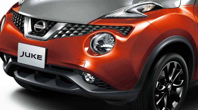 日産自動車、コンパクトSUV「ジューク」の特別仕様車・ドレスアップに新たに2トーンカラーを追加