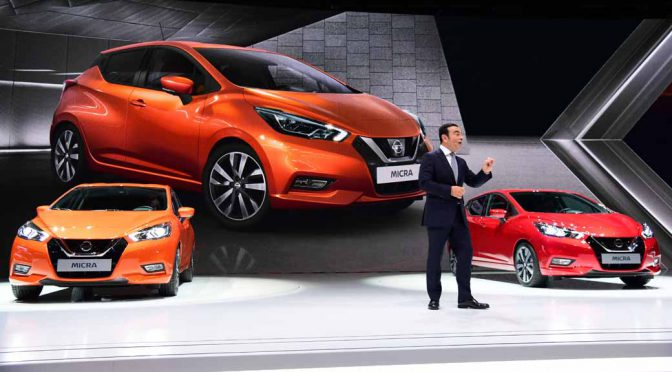 日産自動車、新型「マイクラ Gen5」をパリモーターショーで世界初披露
