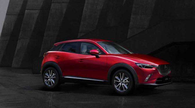 マツダ、「CX-3」を商品改良。革シート採用の特別仕様車「XD Noble Brown」も追加