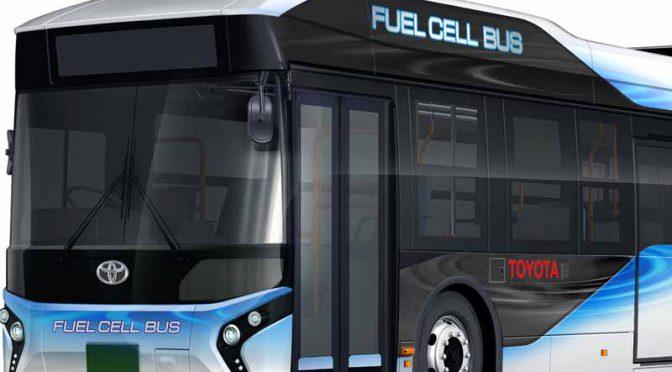 トヨタ自動車、2017年初めより、燃料電池バスをトヨタブランドで販売