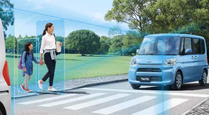 ダイハツ工業、スマートアシスト搭載車の販売累計数が150万台超