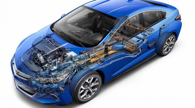日立オートモティブシステムズの発電用・駆動用モーターがGMの新型シボレー・ボルトに採用