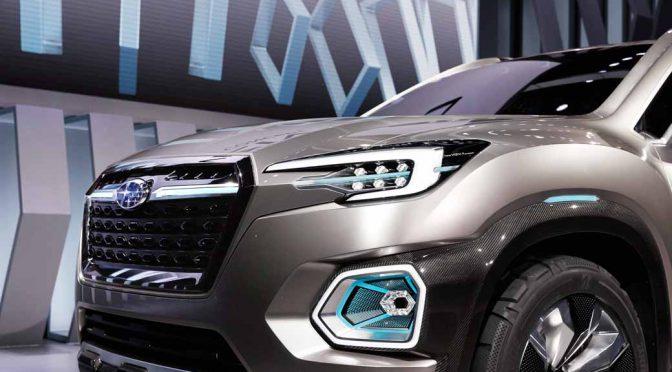 スバル、「VIZIV-7 SUV CONCEPT」を2016年LAオートショーで世界初公開