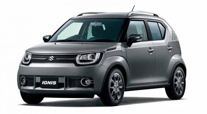 スズキ、小型乗用車「イグニス」の特別仕様車「Fリミテッド」を発売