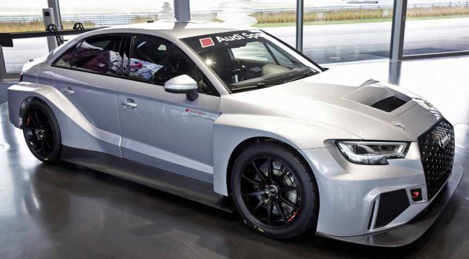 Audi RS 3 LMS納車開始。ドバイ開催の24時間レース出走が車両の初お披露目に