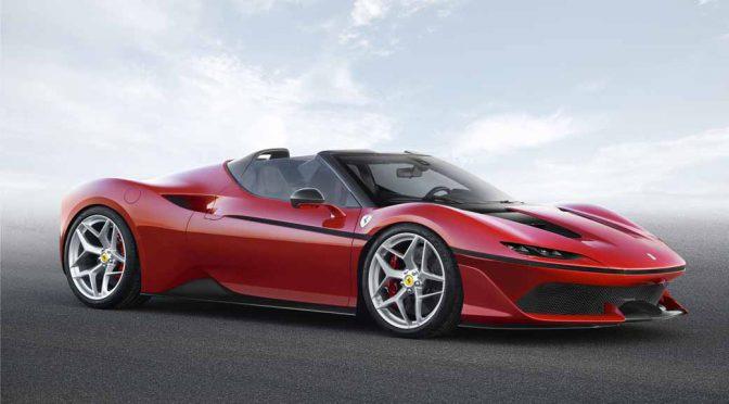 フェラーリ、日本進出50周年記念の極少数限定車「Ferrari J50」をワールドプレミア