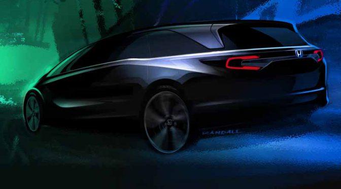 ホンダ、2017年北米国際自動車ショーで新型「ODYSSEY(オデッセイ)」を世界初公開
