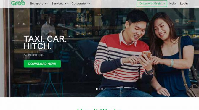 トヨタ自動車、東南アジア配車大手Grab社に出資