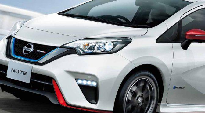 日産自動車、「ノートe-POWER NISMO」を追加。併せて同車NISMOシリーズを刷新