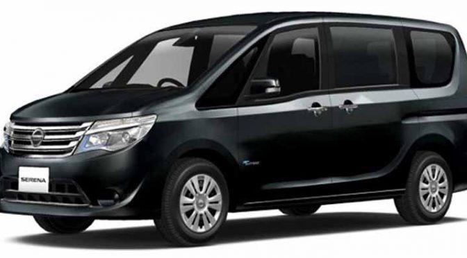 日産自動車、東京都が認定する環境性能に優れたユニバーサルデザインタクシー仕様「セレナ」の出発式を実施