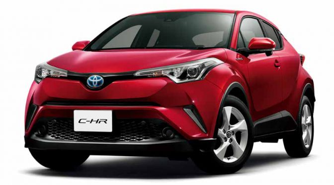MEGA WEB、12月15日(木)から新型車「C-HR」特別展示・試乗を開始