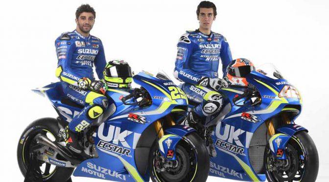 スズキ、二輪ロードレース世界選手権・MotoGP2017の参戦体制を発表