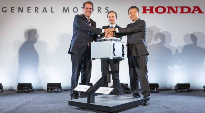 GMとホンダ、米ミシガン州で燃料電池自動車搭載ユニットの量産合弁会社を業界に先駆けて設立へ