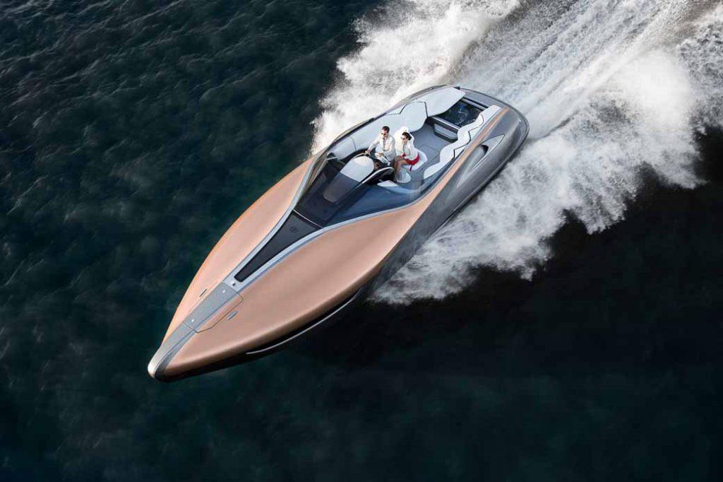 2017年に公表した「LEXUS Sport Yacht Concept」