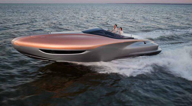 レクサス、900馬力のクルーザー「LEXUS Sport Yacht Concept」を発表