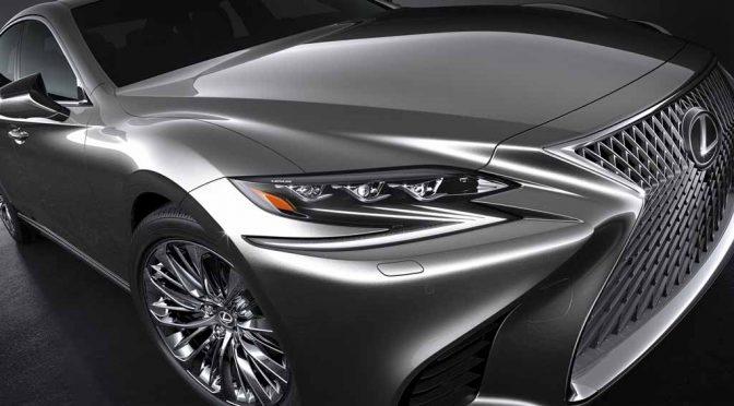 LEXUS、11年振りに完全刷新した新型「LS」をデトロイトモーターショーで初披露