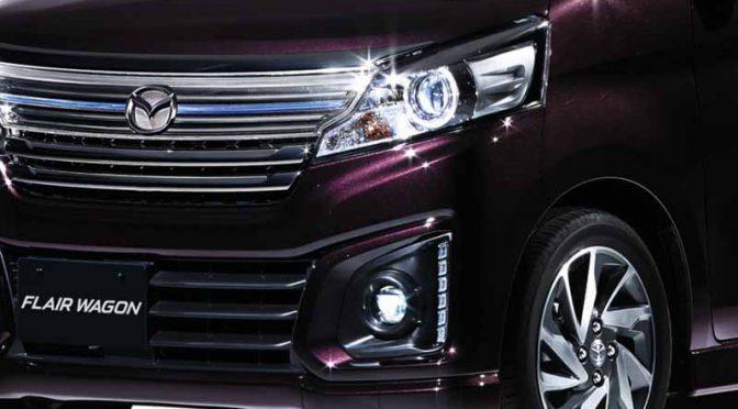 マツダ、「フレアワゴン」の安全性装備を追加し新車体色を採用