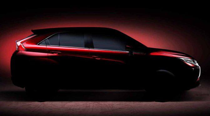 三菱自動車、2017年ジュネーブ国際モーターショーで強靱さを訴求する新クーペSUVを世界初披露