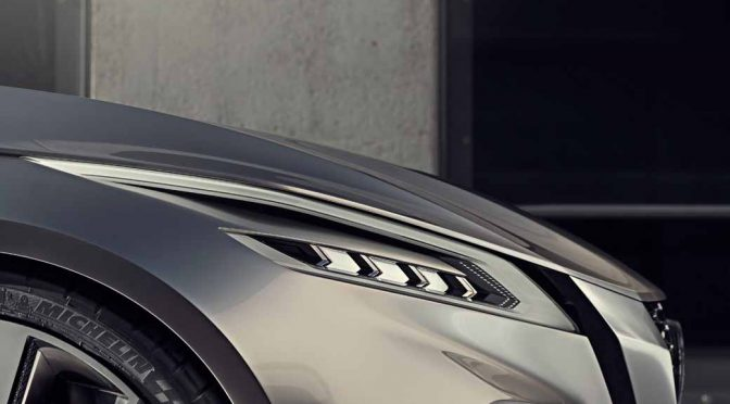 日産自動車、2017年北米国際自動車ショーでコンセプトカー「Vmotion2.0」を世界初公開