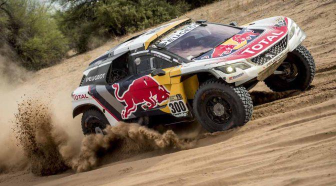 プジョー3008DKR、Dakar(ダカール)2017で2年連続総合優勝。3位までを独占
